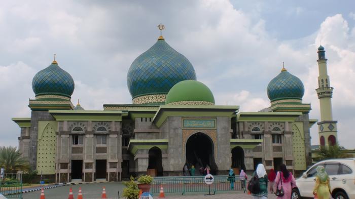 Keindahaan Kubah Masjid Tiban Malang